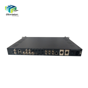 Single channel RF IP descrambling HDSDI HD MI AV cable tv decoders over UDP IP ASI out