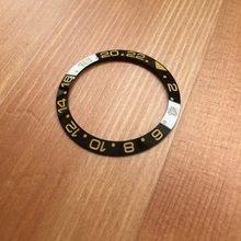 38 мм керамический RLX БЕЗЕЛЬ для наручных часов вставка для часов Роу Вечный GMT-Master II 116718LN 116710LN автоматические запасные части для часов(Китай)