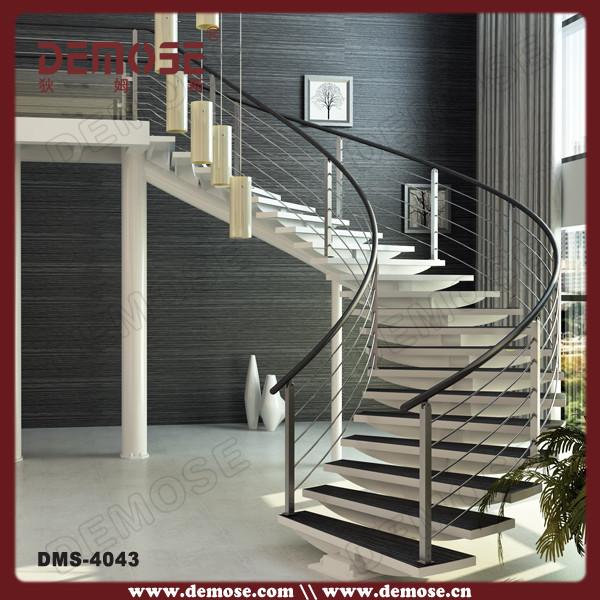 Escalera curva largueros de hierro forjado escaleras buy for Planimetrie delle scale curve
