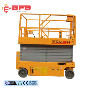 high quality easy operation battery charger scissor lift low price