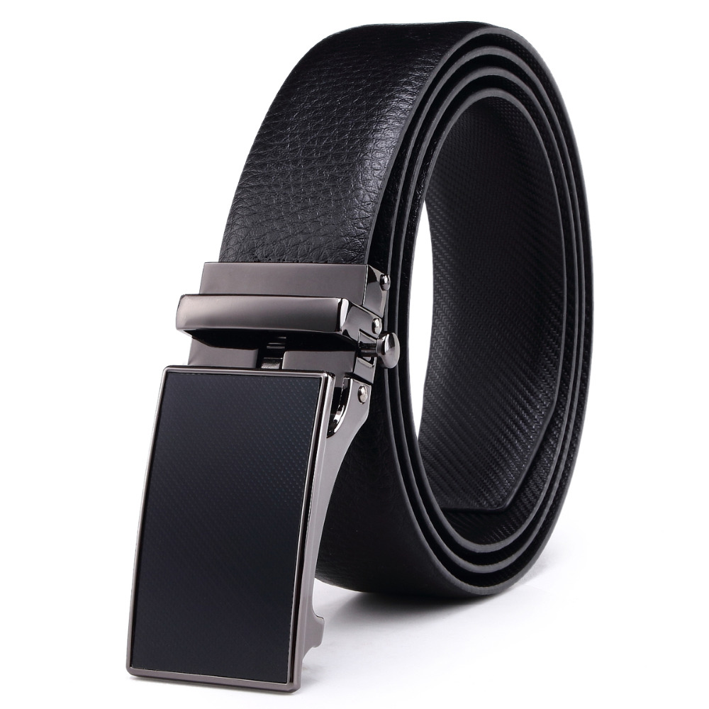 Wholesale Side Press Automatic Custom Designer Men Genuine Leather <strong>Belt</strong>