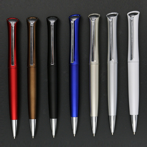 Chinese promotion black uni ball pen with customer logo