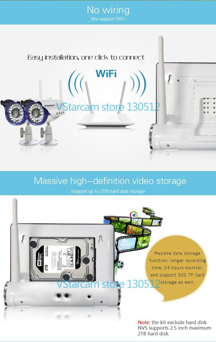 vstarcam wifi surveillance video camera onvif wireless home security system buy wireless home. Black Bedroom Furniture Sets. Home Design Ideas