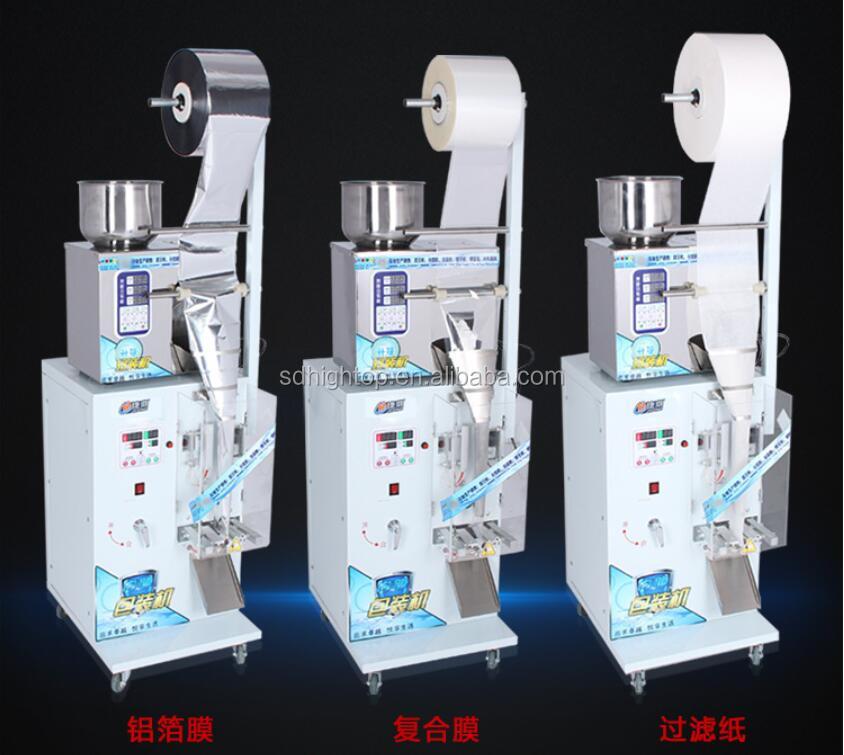 Automatic grain powder medicine packaging tea filling and sealing machine