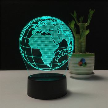 7 Color Changing Lights Acrylic 3d Table Lamps Amazon