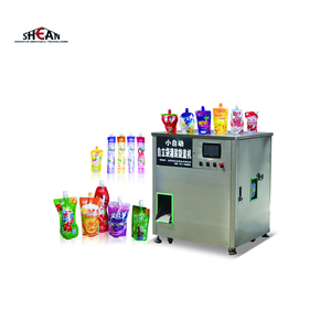 50mo/100ml/150ml/200ml Spout Pouch Juice Filling Machine Painting Filling Machinery