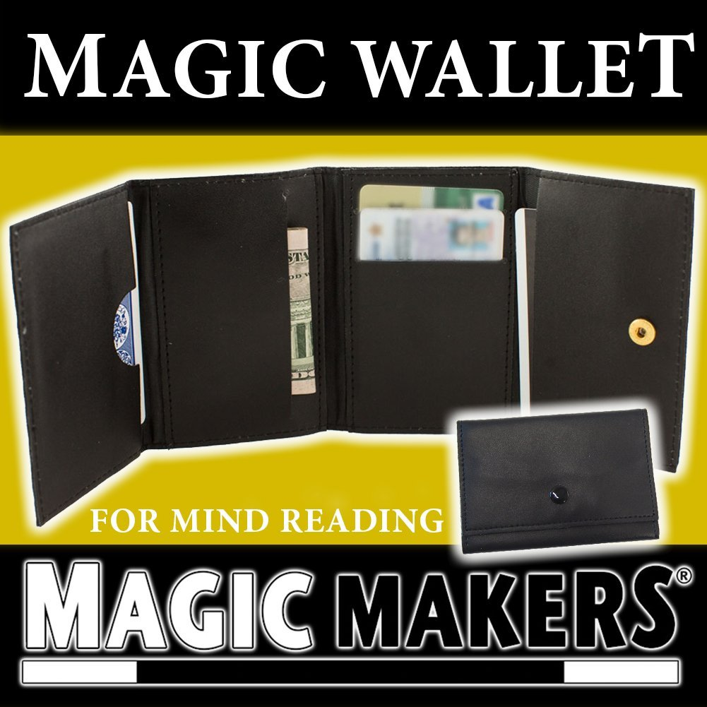 The Magic Wallet - the Ultimate Magic Trick Using Any Business Card
