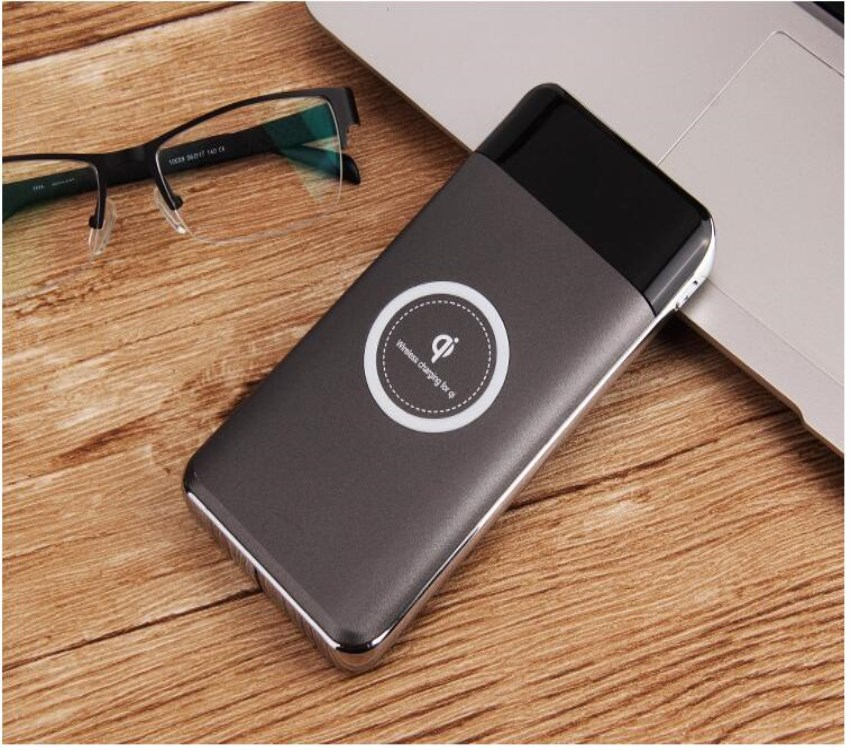 2018 the most popular mobile 10000mAh fast wireless charger power bank 10w for iphone