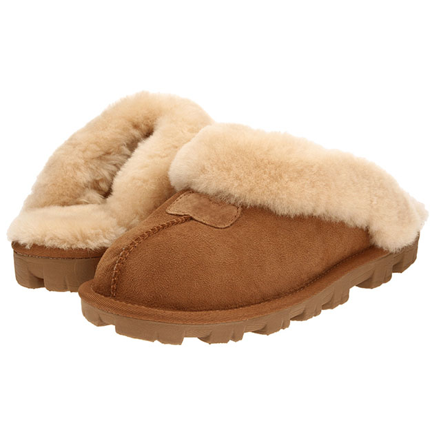 Winter Warm Thick Sole Wool Moccasin Indoor Slippers For Women