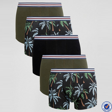men underwear wholesale floral print custom mens underwear
