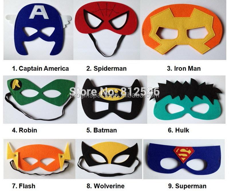 Venta al por mayor mascaras de hulk-Compre online los mejores ...