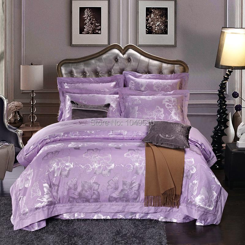 Christmas Sale Queen Size Noble Silk Cotton Comforter Set