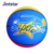 Hotselling size 5 colorful rubber printed star basketball ball china sports equipment youth basketball team names