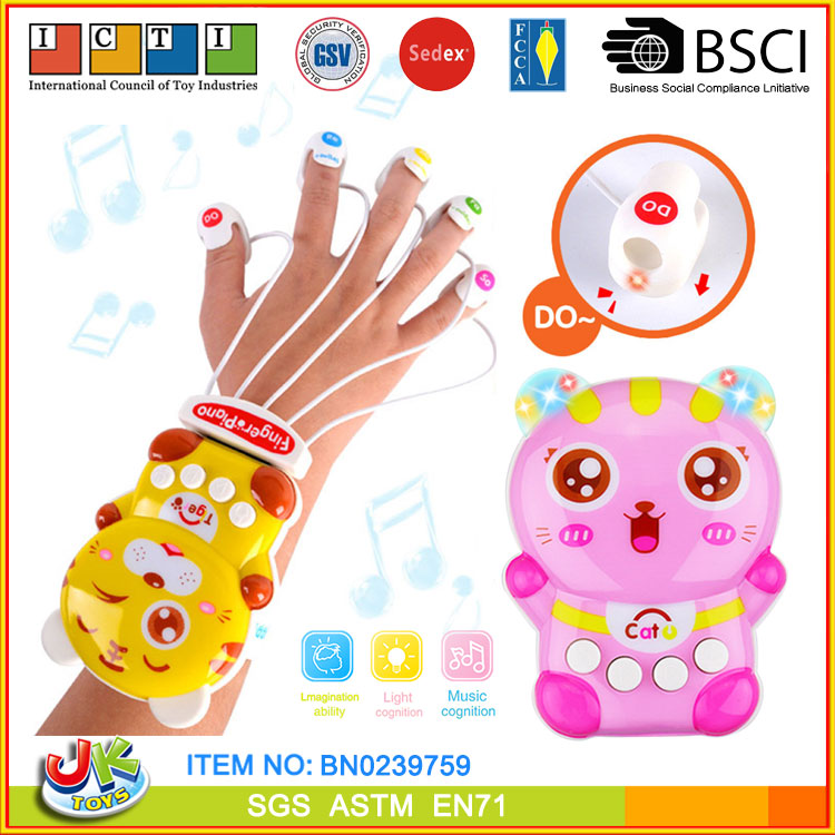 [JK TOYS] Kid Musical Instrument Toy Funny Finger Piano By Knocking