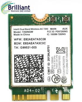 For Dual Band Ac 7260ngw Intel 7260 Ngff 2x2 Wifi 802 11ac 867 Mbps Wi-fi +  Bluetooth 4 0 Wirelss Card - Buy 7260ngw Ac Product on Alibaba com