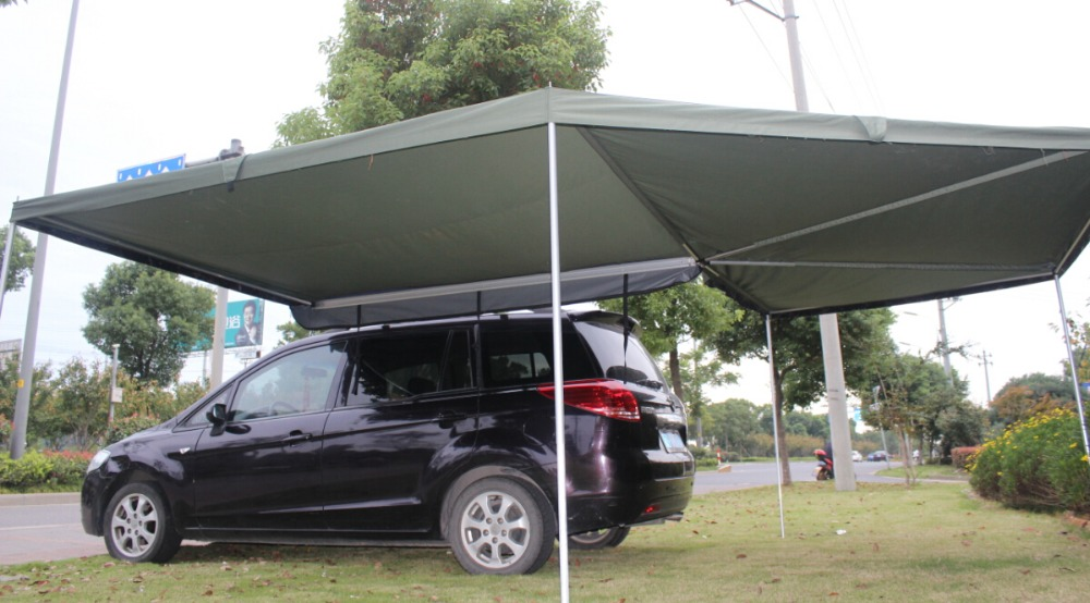 4x4 Off-road Polygon Side Awning Sunshade Function, View ...