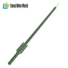 metal used electric fence t-post wholesale green painted metal t fence post