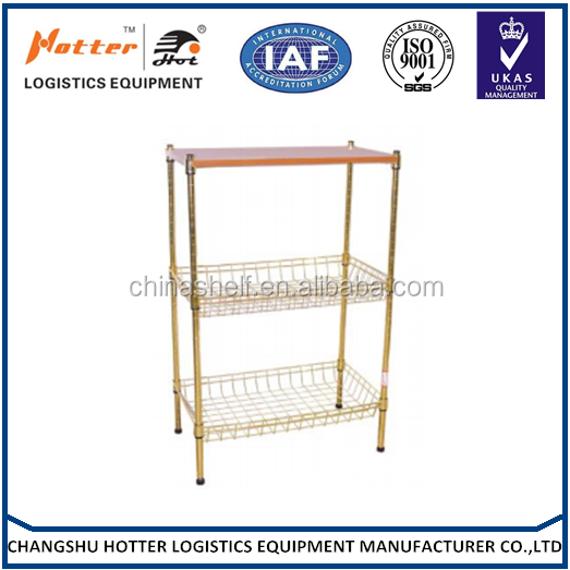 Factor direct price slat and wire Commodity Store Shelf Rack