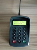 Pinpad with 15 keys pinpad smart card reader mpos terminal