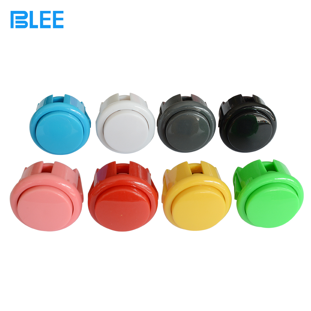 Arcade game parts manufacturer direct wholesale Swan style zero delay switch 30 mm arcade machine push buttons