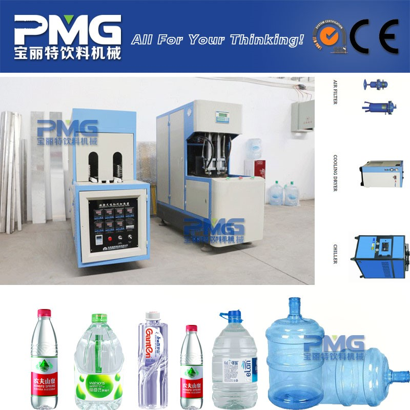 PMG Easy Operation Plastic Bottle Stretch Blow Molding Machine for Water Filling Line