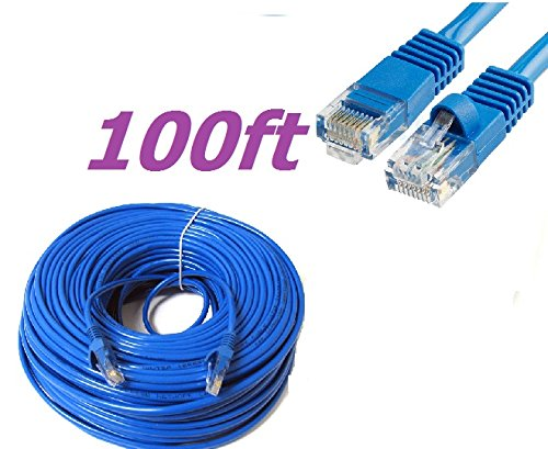 RJ-45 T568B 4.5-m Yellow Straight-Pinning CAT5 100-MHz Economy Patch Cable 24 AWG 4-Pair PVC 15-ft.