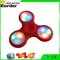Camouflage Light Hand Fidget Finger Spinning Plastic Wind Spinner Stress Hand Desk Toy