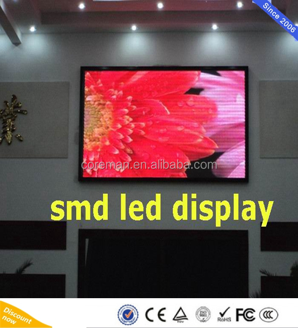 TV show effect Waterproof P5 P6 Support Advertising Screen Led full color led display board