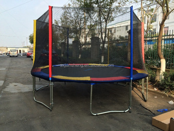 Exceptionnel 16ft Outdoor Trampoline Stairs For Children