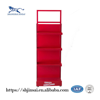 New design cosmetics metal display stand for promotion