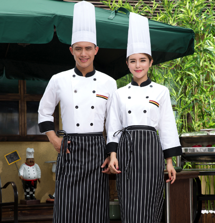 China Guangzhou garment manufacturer Fast food restaurant waiter work uniforms