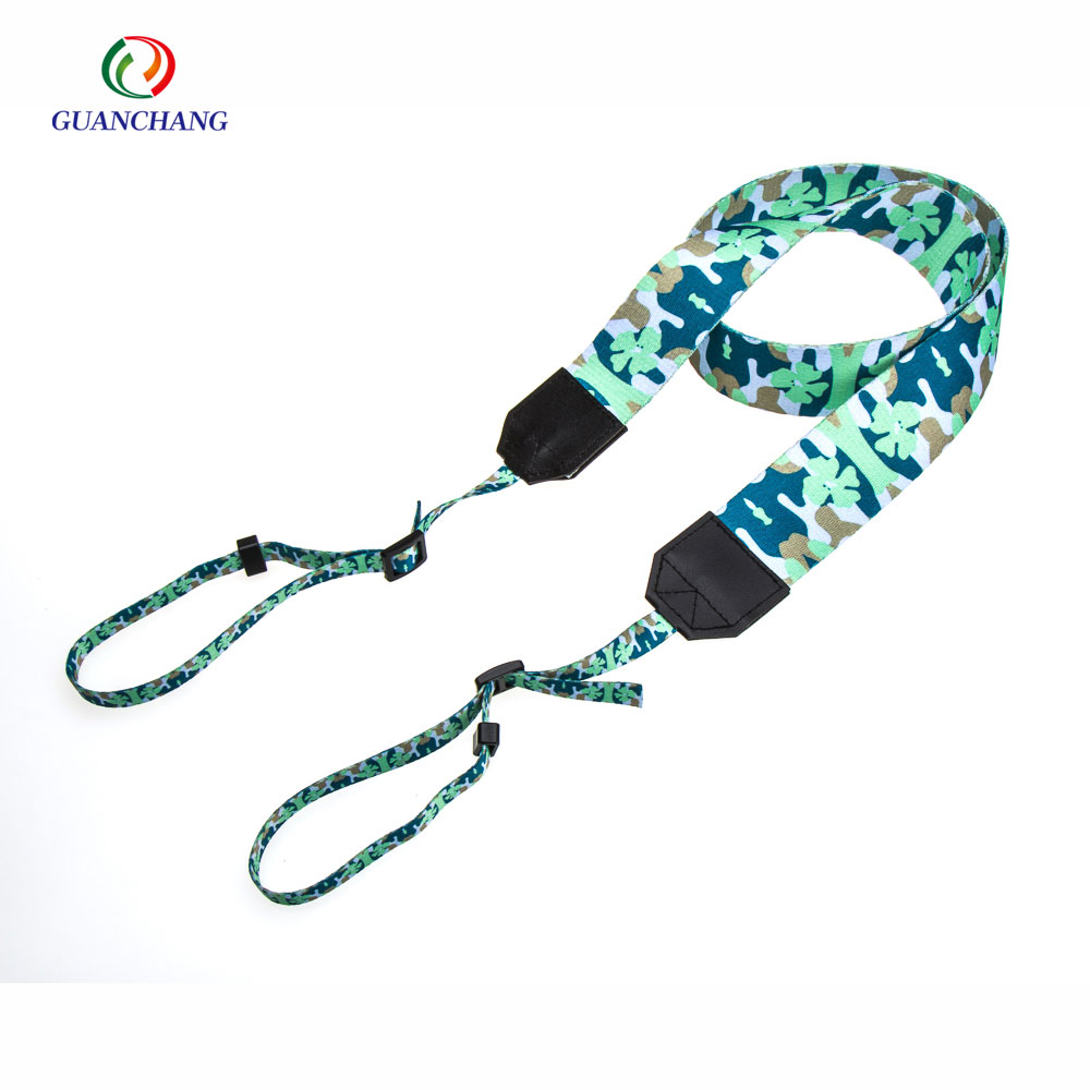 new premium customized logo fashion polyester camera belt,camera neck strap