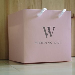 Custom make different colors packaging bag paper gift bag for wedding
