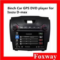 Foxway dependable performance 8 inch touch screen car audio player with bluetooth Car DVD Player for Isuzu D-max. MUX
