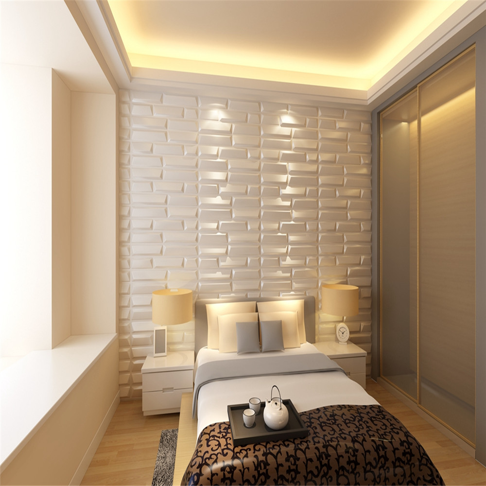 Bedroom Leather Wall Panels Hot Selling 3D Waterproof Household Decor Wall Panels