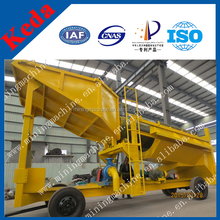 Ratio gold washing trommel scrubber for Africa small scale gold mining