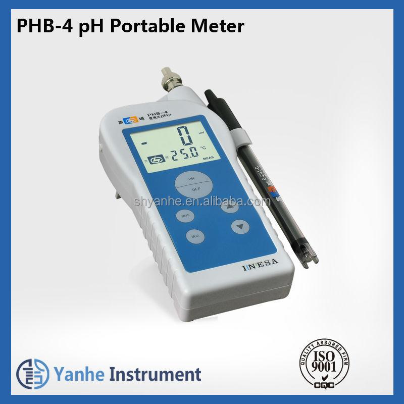 Phb-4 Portable Ph Meter Price Ph/orp Meter Cheap