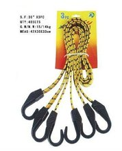 rubber elastic rope with hook