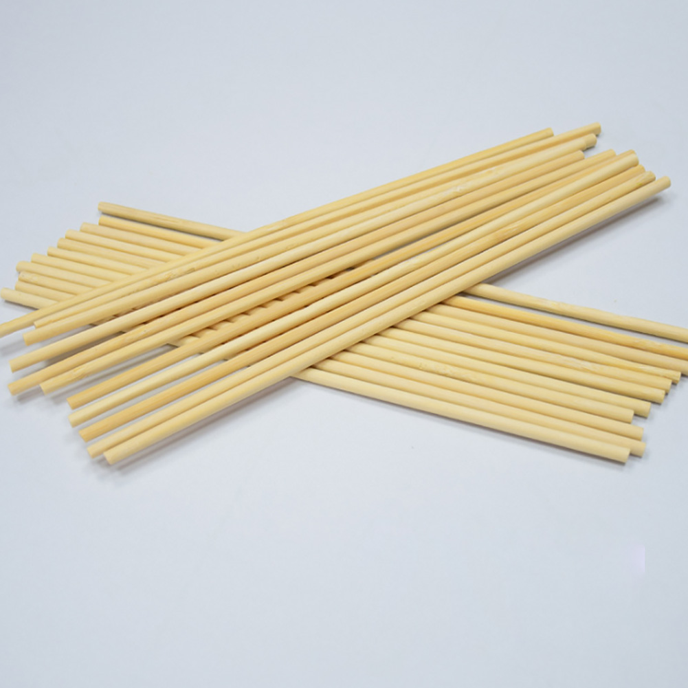 60Pcs//set Bamboo Sticks Replacement Reed Diffuser Round Useful Furniture Fitting