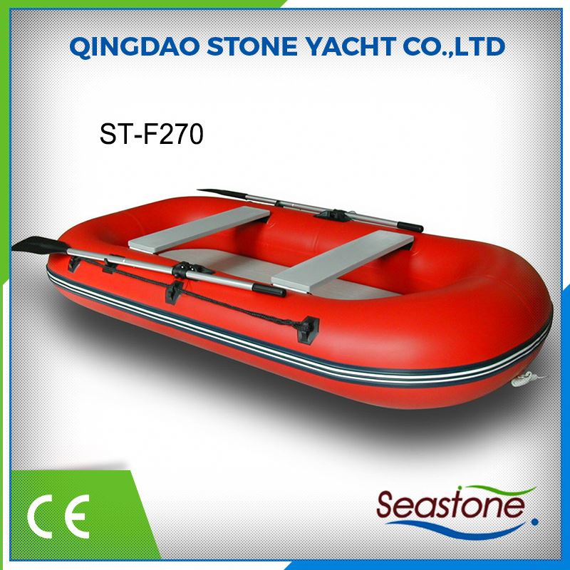 Rich Export Experience Factory Sell Best China Approved Hard Top 2.7m Inflatable Fishing Boat