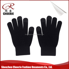 Wholesale Daily Life Usage screen touch hand Sublimation Printing cotton string knit glove