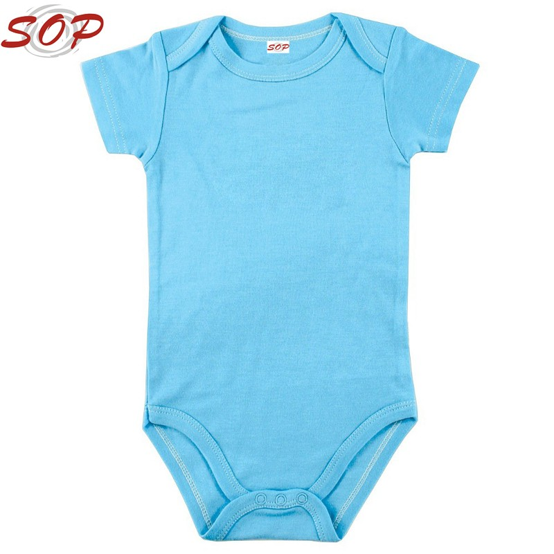 Wholesale Customized Oem Baby Product Clothes Infant Plain ...
