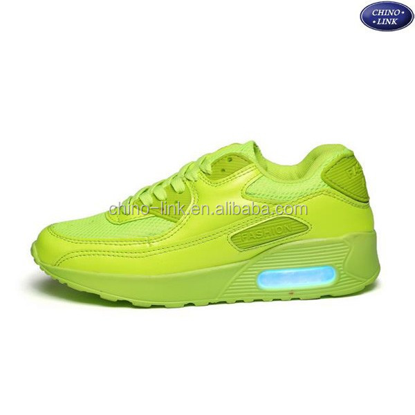 las shoes sneakers 2016 air cushion light up led shoes