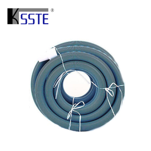 Swimming pool cleaning equipment flexible vacuum hose ends