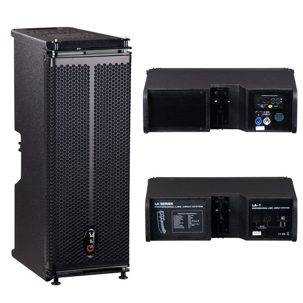 La-1 Spe Audio Linear Speakers 6.5 Inch 2 Way Line Array Sound ...