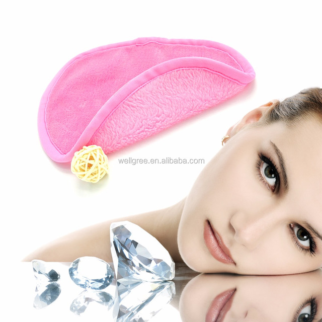 2017 Latest high quality beauty tool makeup removal cloth cosmetics towel for promotion