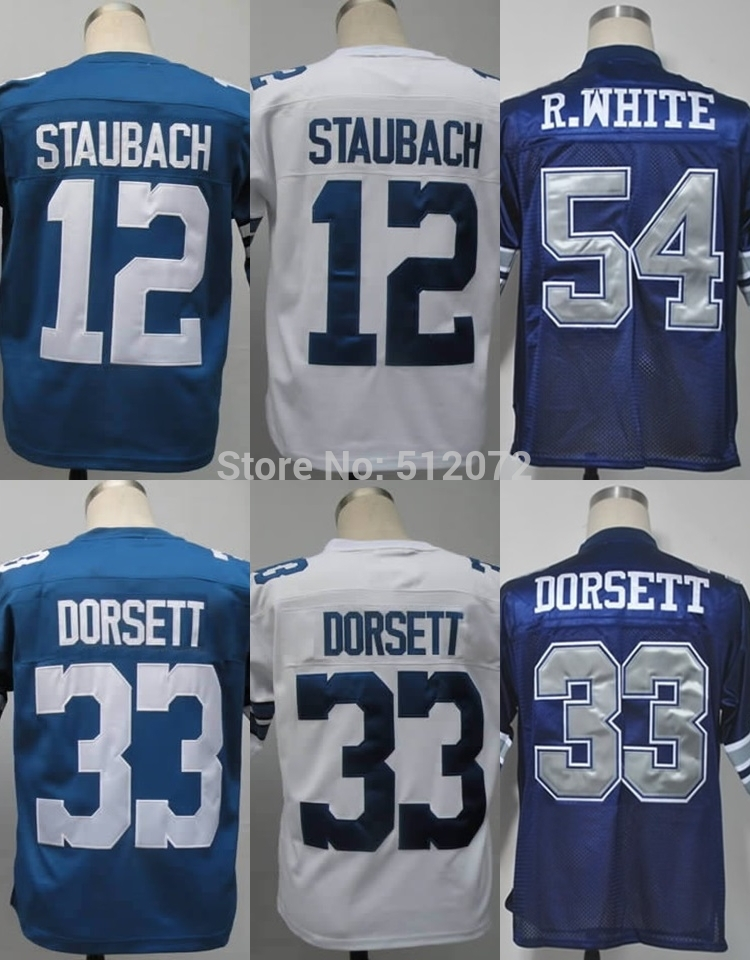 new concept b4ef2 850f4 Online Get Cheap Roger Staubach Throwback Jersey -Aliexpress ...