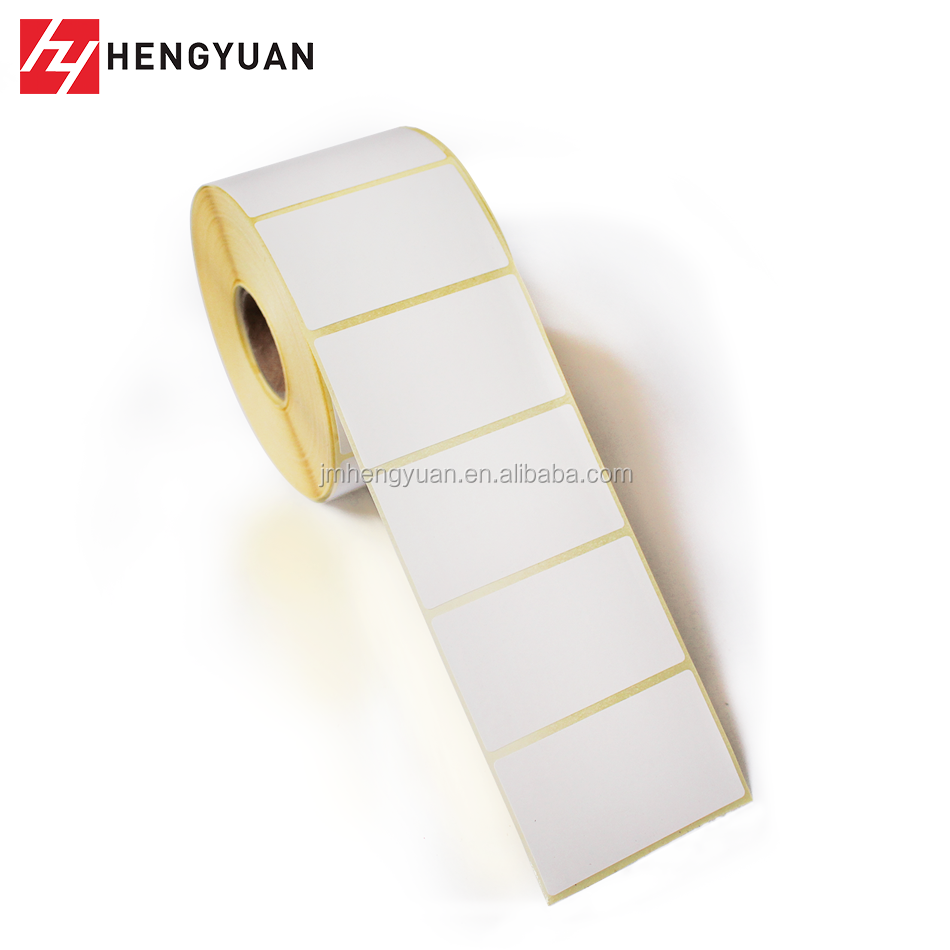 Roll Selling Custom Size Self Adhesive Sticker Paper Label Paper