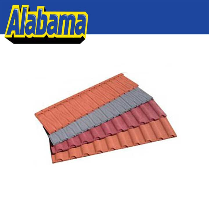 Zinc Aluminum Coating And Stone Chip Metal Roofing