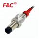 24v dc PNP type flat 2-wire 4mm 8mm inductive proximity sensor switch wired and inductive 12v ac proximity sensor for sale